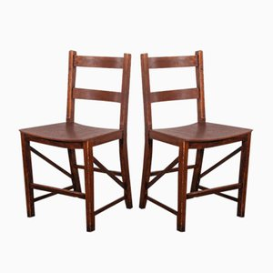 Saddle Seat Dining Chairs from E Gomme - England, 1950s, Set of 2