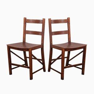 Sattelsitz Esszimmerstühle von E Gomme - England, 1950er, 2er Set