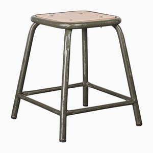 Army Khaki Stools from Mullca, 1960s, Set of 6