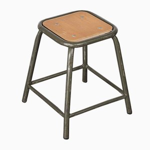 Army Khaki Stool from Mullca, 1960s