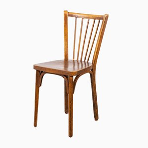 Vintage Bistro Dining Chairs from Baumann, 1950s, Set of 8