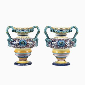 Antique Vases by Richard Ginory, Set of 2