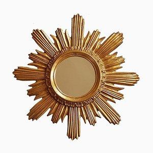 Specchio Mid-Century a forma di sole, Francia