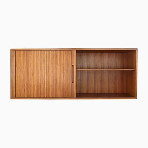 Tambour Sideboard with Open Compartment, 1960s