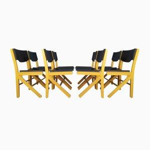Sedie da pranzo di Baumann, anni '90, set di 8