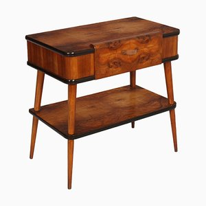Mid-Century Record Player Console Table Attributed to Ico Luisa Parisi for Brugnoli Mobili, 1930s