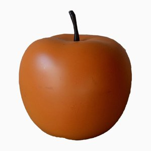 Large Orange Plastic Apple, 1960s