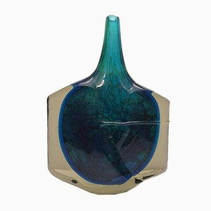 Large Fish Vase by Michael Harris for Mdina, 1970s