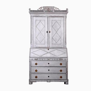 Scandinavian Carved Cabinet, 1780s