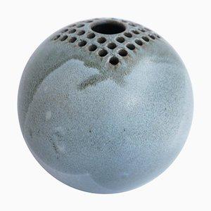 Italian Ceramic Ikebana Vase by Bucci, 1960s