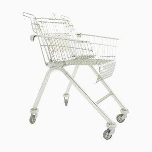 Postmodern Italian Shopping Cart Chair, 1980s