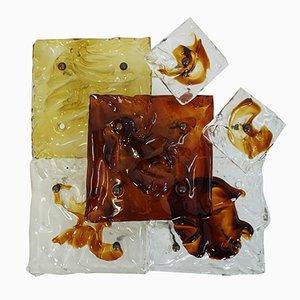 Modulare Wand- oder Deckenleuchte von Toni Zuccheri für Venini, 1970er