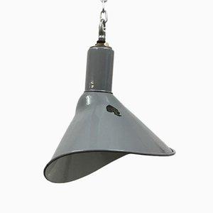 Graue elliptische Deckenlampe von Benjamin Crysteel