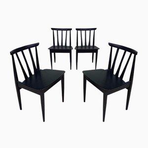 Vintage Armchairs from Elliots of Newbury, Set of 4