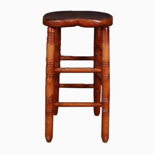 Antique English Bar Stool