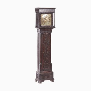 Antique Mahogany 8 Day Longcase Clock from J N Tilbury Guernsey