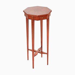 Painted Satinwood Sie Table, 1870s