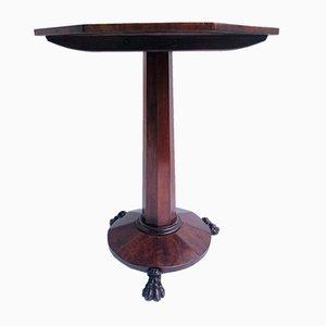 Antique William IV Mahogany Table Lamp