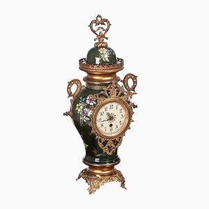 Large French Mantel Clock, 1880s