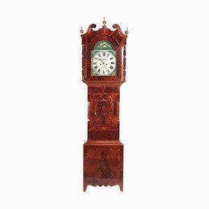 Horloge Longcase 8 jours en Acajou Peinte