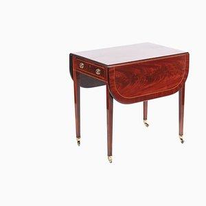 Sheraton Period Inlaid Mahogany Pembroke Table