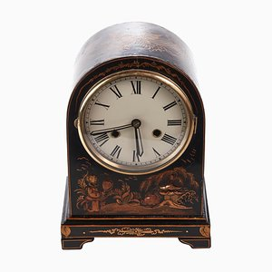 Chinoiserie Cased Dome Topped Mantel Clock, 1920