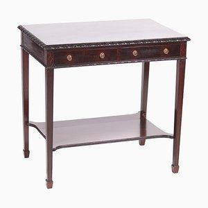 Antique Edwardian Mahogany Freestanding Side Table