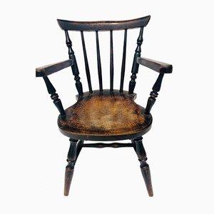 Antique Victorian Childrens Chair, 1890s