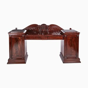 Antique Mahogany Carved Sideboard