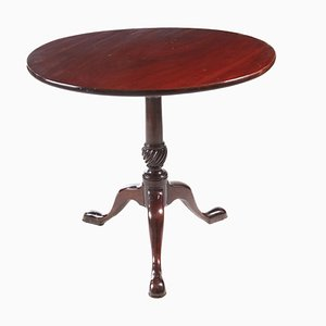 Antique Georgian Mahogany Tripod Table