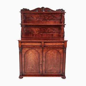 Antique Regency Carved Mahogany Chiffonier