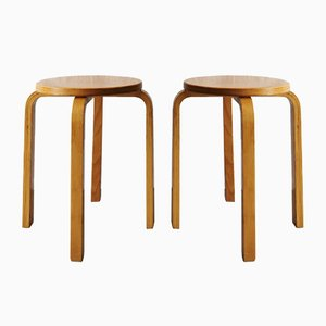 Mid-Century Stacking Stools, 1960s, Set of 2