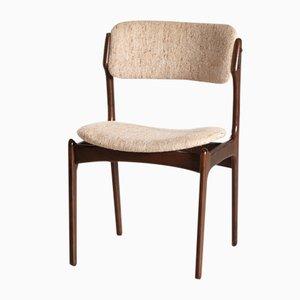 Chaises de Salon Modèle 49 par Erik Buch pour Oddense Maskinsnedkeri / OD Møbler, Danemark, 1960s, Set de 5