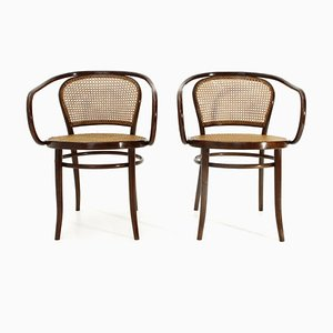 Mid-Century Model B6033 Dining Chairs by Michael Thonet, Set of 2