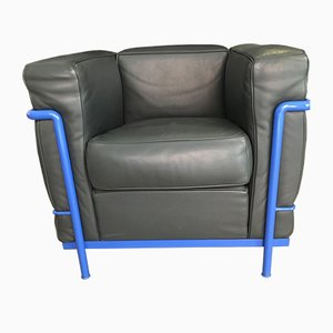 Vintage Modell LC2 Sessel von Le Corbusier für Cassina, 2er Set