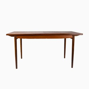 Vintage Danish Extending Teak Dining Table by Ib Kofod Larsen for G-Plan, 1960s