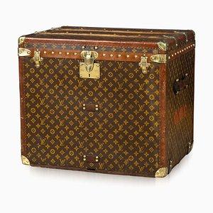 Baule antico con monogramma di Louis Vuitton, Francia, anni '20