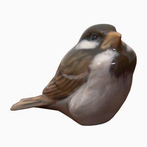 Porzellan Sparrow Figur von Royal Copenhagen, 1950er
