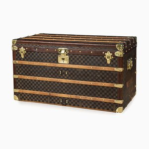 Antique Damier Canvas Trunk from Louis Vuitton, 1900s