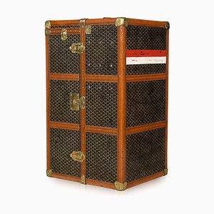 Große Vintage Truhe von Goyard, 1920er