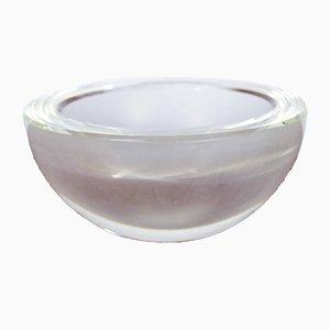 Vide-Poche aus Kristallglas von Rosenthal, 1960er