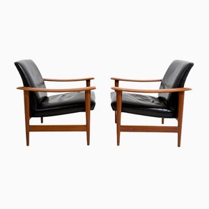 Lounge Chairs by Kaare Klint, 1950s, Set of 2