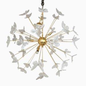 Lampadario Sputnik color oro 24k di Italian Light Design