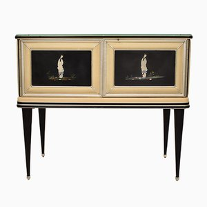 Chinoiserie Console Table by Umberto Mascagni, 1950s