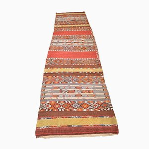 Antique Turkish Wool Balikesir Kilim Rug, 1920s