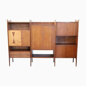 Large Italian Bookcase, 1960s