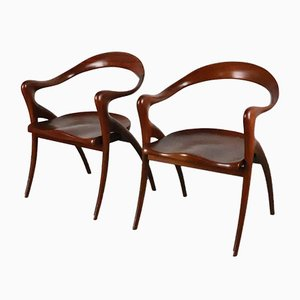 Chairs, 1980s, Set of 2