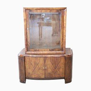 Art Deco Display Cabinet, 1940s
