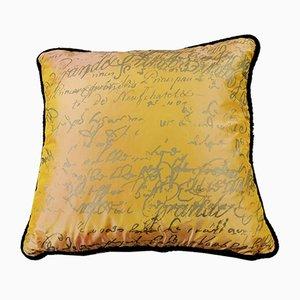 Handgefertigtes Kissen aus Seide von Carolyn Quartermaine