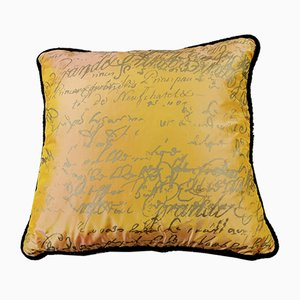 Handmade Silk Cushion from Carolyn Quartermaine